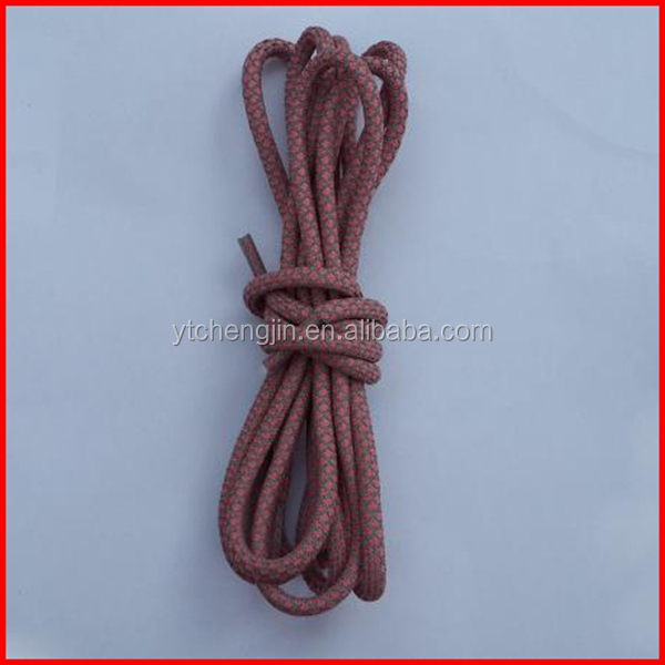 54 inch various colors round rope laces