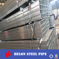 GI tube 4 Galvanized square steel tube/squre and rectangular hollow section