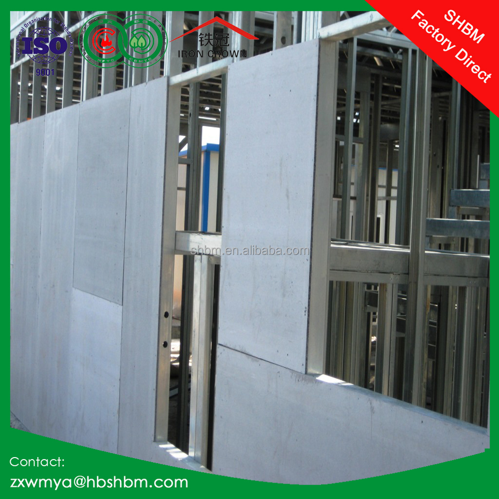 reinforced cladding exterior wall panel fiber cement board 100% asbestos free 2400x1200