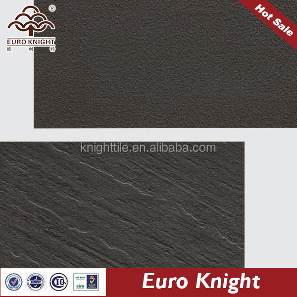 glazed speckled black tile of full body tile