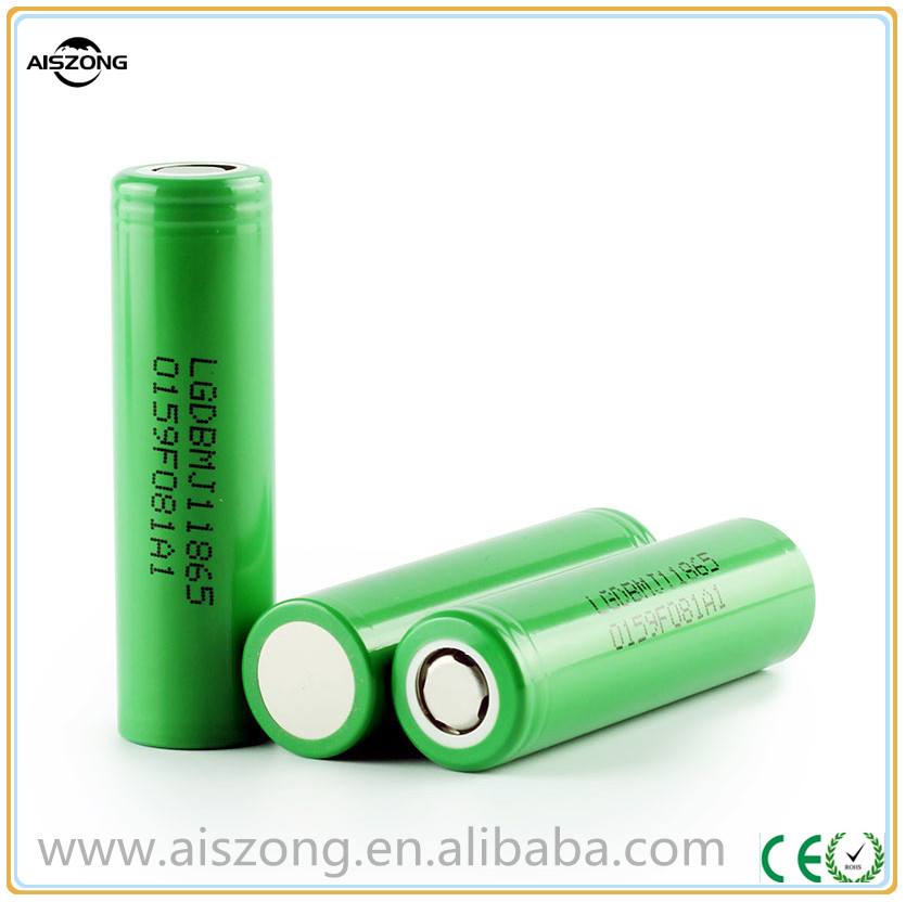 LG 18650 mj1 3500mah battery high drain 10A inr18650mj1 battery drain cell