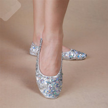 Factory Wholesale Cheap Belly Dance Performance Wear Shoes Fancy Girls Belly Shoes