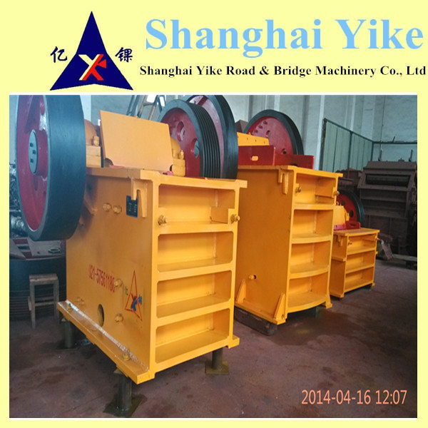 China Good pe/pex series stone jaw crusher price With CE certificates
