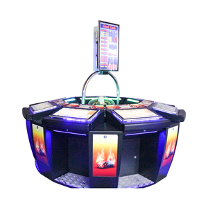China table top slot game machine coin operated roulette machine
