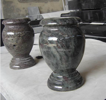 shaped marble vases for cemetery,cemetery flower urn