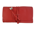Top Quality Make Up Cosmetic Pouch Unique Purse Case Makeup Bags Pouch Cosmetic Folding Makeup Bag Red