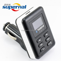 SF04 Car FM Transmitter Support USB Flash Drive
