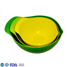 Cheap And Fine Green Pp Plastic Classic Mixing Bowl