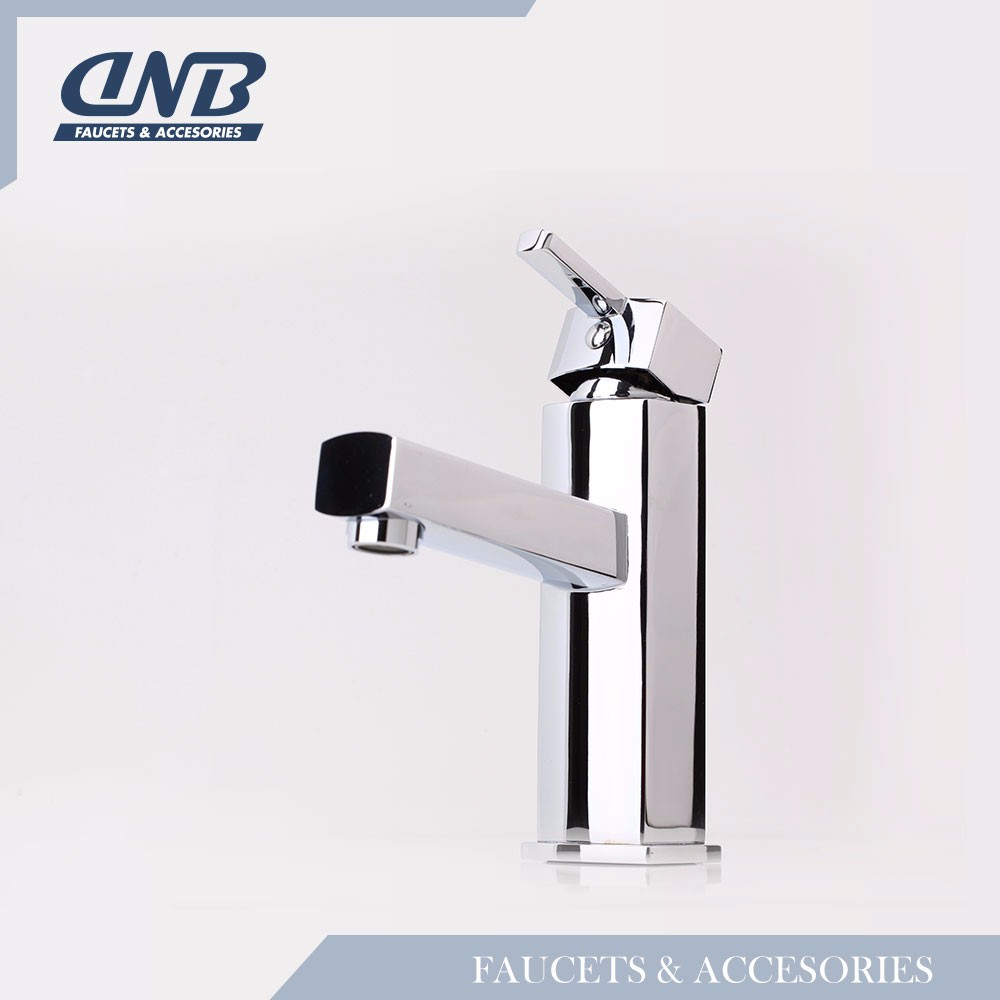 Commercial Brushed Nickel Water Filter Faucet, basin mixer