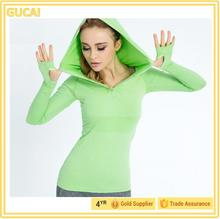 automatic running long sleeve shirt without hooded in China