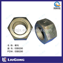 Liugong Spare Part 03B0295 Nut GB6170-86;M33-10-Zn.D Blind Nut,Cover Nut