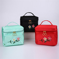 Wholesale novelty design high quality style fashion cosmetics case with size