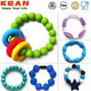 China Manufacture Promotional Custom Shape Silicone Bracelets