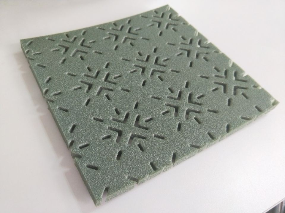 Waterproof Shock Absorption PE Foam Material For Artificial Grass