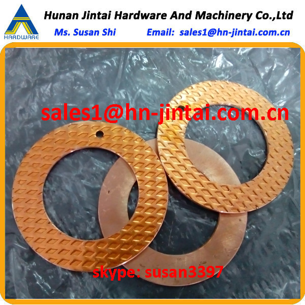 46x76x2.5 thickness or 3mm 36x58x2 bronze washers