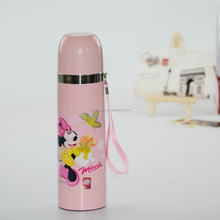 500ml double wall stainless steel vacuum sports water bottle