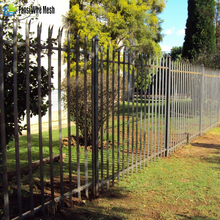 Steel Boundary Wall Euro Palisade Fence Garden Safety Fence