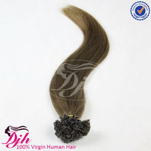 100% human hair top grade remy unprocessed nail hair,keratin pre bonded u tip nail hair extension,u tip curly hair extensions