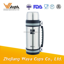 2L New shape new style hot selling double wall stainless steel wide mouth vacuum multi-purpose travel kettles