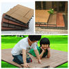 Cheap and Popular DIY Decking price wpc flooring System 310X310X22mm