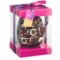 Clear chocolate egg packaging box with holder,custom chocolate easter egg packaging box by food grade PET