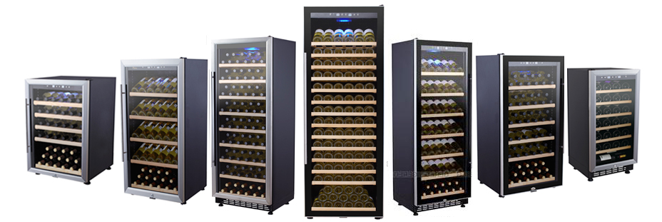 28 bottles electric peltier thermo electric wine cooler