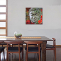 Wholesale Canvas Artwork Artistic Buddha Image Canvas Print Zen Picture Canvas Printing for Interior Decoration