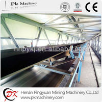 Good Capacity High inclination Angle Belt Conveyor for Sand