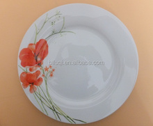 10.5'' Restaurant ceramic dinner plate & dishes nice and simple desgin porcelain round dinner plates