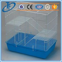 Different Style Wholesale middle square bird cages , fancy bird cages