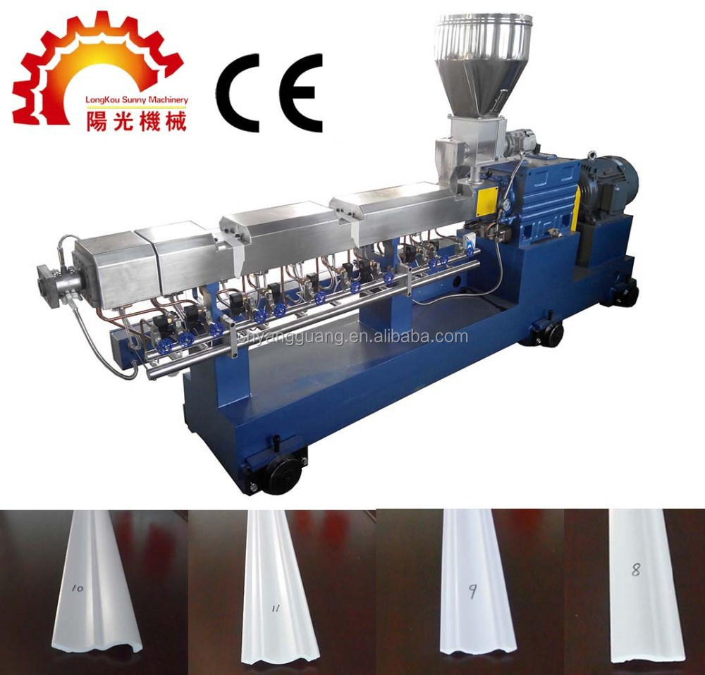 CE approve Polystyrene crown moulding corners extrusion machine