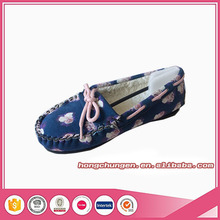 Wholesale Low price Women Moccasin Loafer Casual Ladies Flat Shoes