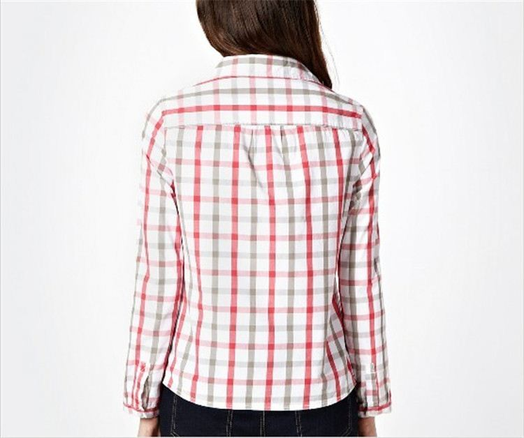 Newest sale trendy style girls plain white cotton shirt directly sale
