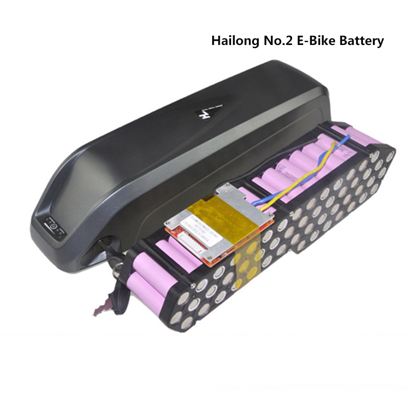hailong No.2 lithium 36v 48V 10ah portable battery e-bike scooter built-in BMS + charger