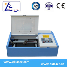 Mini CO2 Laser Polymer Rubber Stamp Making engraving Machine