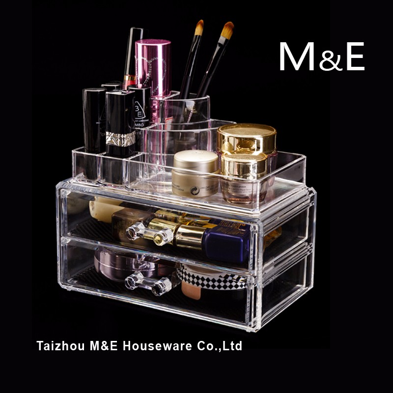 Acrylic Makeup Organizer Cosmetic Storage Display Box
