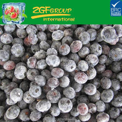 IQF frozen blueberry fruit use for pie