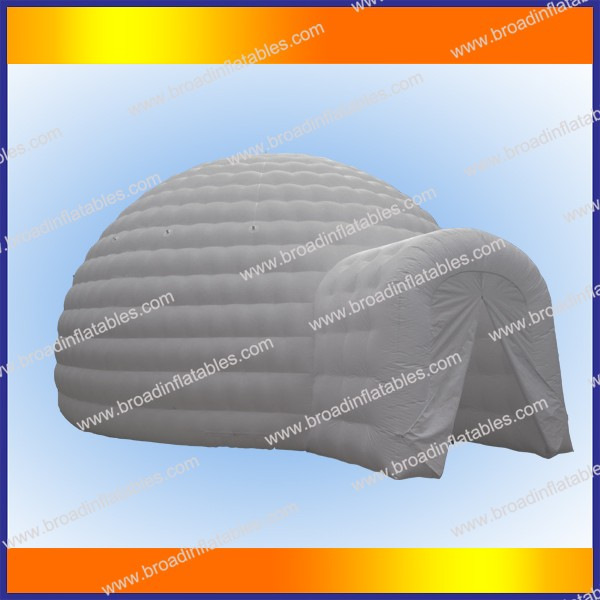 Double Layer bubble inflatable yurt tent, inflatable tent, inflatable yurt tent