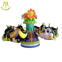 Hansel best selling electronic carousel rides attractions for children