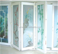 Best price PVC plastic interior folding door