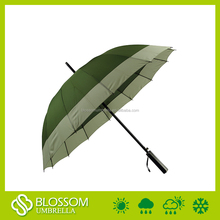 Customized size auto open recycle fashion design golf umbrella wholesale