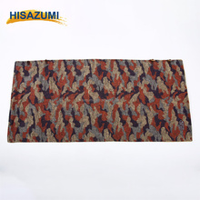Hisazumi fashionable tweed patchwork blanket comfortable sherpa blanket Knee Blanket OEM&ODM