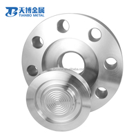High Pressure Raised Face Welding Neck Astm B381 Wnrf Titanium Flange