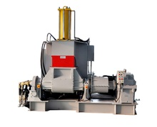 Air pressure plastic and rubber compounds mixing mill machine (kneader)