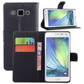 Hot selling leather case for Samsung Galaxy A5 Leather Mobile phone flip cover case for Samsung Galaxy A5