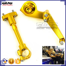 BJ-SDA-001 Highly Recommended CNC Aluminum Motorbike Adjustable Steering Damper Bracket Kit for Yamaha YZF R3 2015