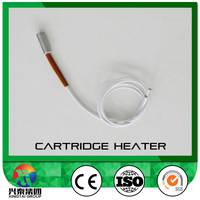 Cartridge heating element for solar heater/cartridge heater making machine heating element