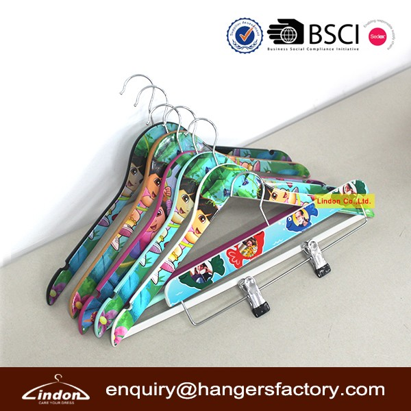 Assessed Supplier LINDON 2016 New Fashion Double-sided Heat Tranfer Printing Hanger