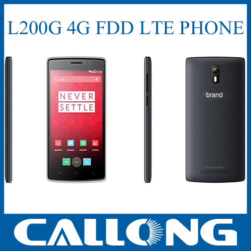 5 inch IPS screen L200 S49 mtk6582+mt6290 android 4.4.2 OS 4G smartphone Landvo lte 4g mobile phone,4G LTE CELL PHONE L200