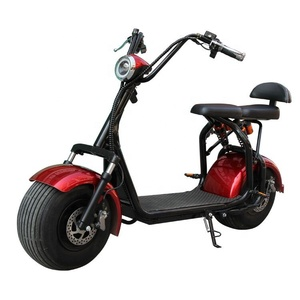 1500w max speed 75km/h distance 60km brushless motor 18 inch 2 wheel Adult Electric Scooters Citycoco scooters N1